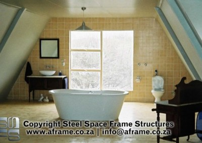 A Frame Houses - Owner-completed interiors